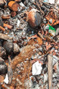 Garbage  on sea Royalty Free Stock Photo