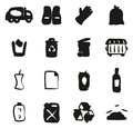 Garbageman Icons Freehand Fill