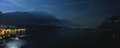 Garda Lake Night Panorama