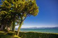 Garda lake in peschiera italy Royalty Free Stock Image