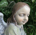 Garden Angel Royalty Free Stock Photo