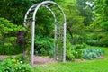 Stock Image Garden Arbor