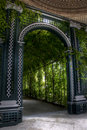 Garden arch Royalty Free Stock Photo