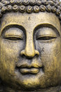 Garden buddha Statue detail Royalty Free Stock Photo