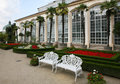 Garden of Castle in Kromeriz Stock Images
