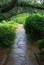 Garden de obispo Fotos de archivo