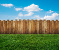 Garden fence Royalty Free Stock Photo