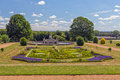 Garden and Flora Fountain, Witley Court, Worcestershire, England.