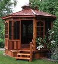 Garden Gazebo Royalty Free Stock Photo