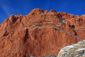 Garden of the Gods Kissing Camels Royalty Free Stock Photo