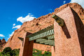 Garden of the gods north gateway rock inside national park located in manitou springs colorado this monument is a popular Stock Photo