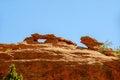 Garden of the gods photo red rocks at park near denver colorado Stock Images