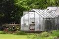 Garden greenhouse Royalty Free Stock Photo