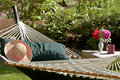 Garden hammock Royalty Free Stock Photos