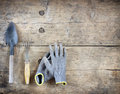 Garden hand tools Royalty Free Stock Photo