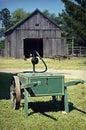 Garden Hose Cart Royalty Free Stock Photo