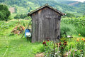 Garden hut Stock Image