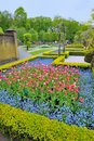 Garden In Keukenhof, Tulip Flo...