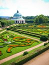 Garden kromeriz summer Stock Images
