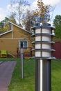 Garden lamp. Stock Photos