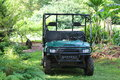 Garden maintenance car the in botanical Stock Photography