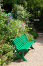 Garden of monet in giverny the famous painter claude france Stock Photo