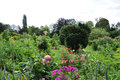 Garden of monet in giverny the famous painter claude france Stock Photos