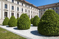 Garden na baste on prague castle buildings of around beautiful gardens bohemia czech republic central europe Stock Photos