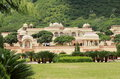 Garden Palace in Jaipur. Royalty Free Stock Photo