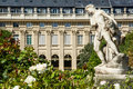 Garden of Paris's Palais Royal Royalty Free Stock Images