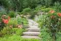 Garden Path Royalty Free Stock Photo