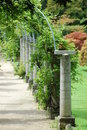 Garden pergola Royalty Free Stock Photography