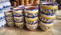 Garden Plant Pots Royalty Free Stock Photo