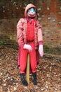 Garden Scarecrow. Royalty Free Stock Photo