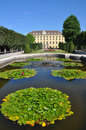 Garden of Schönbrunn Palace, Vienna Royalty Free Stock Images