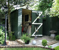 Garden Shed Royalty Free Stock Photo
