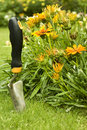 Garden shovel Royalty Free Stock Images
