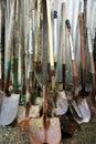 Garden Shovels Royalty Free Stock Photo