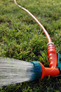 Garden sprinkler Royalty Free Stock Photos