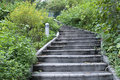 Garden Stairs Royalty Free Stock Photo