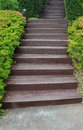 Garden stairway Stock Photos