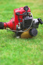 Garden strimmer engine Royalty Free Stock Photography