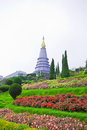 The garden of In-ta-non park,Thailand Stock Photos