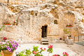 Garden Tomb in Jerusalem, Israel Stock Image