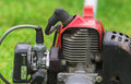 Garden tool engine Royalty Free Stock Photos