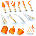 Garden tools 1 Royalty Free Stock Photography