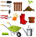 Garden tools Royalty Free Stock Images