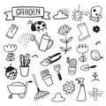 Garden vector collection design