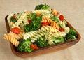 Garden veggie salad Royalty Free Stock Photo