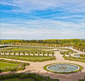 Garden in Versailles palace Stock Photos